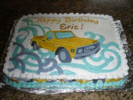 72 Chevy Cake by MonnieMoero