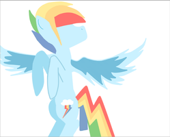 Lineless Rainbow Blitz by OtakuNekoGirlz