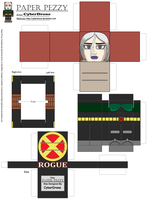 Paper Pezzy- Rogue 'Evo' by CyberDrone