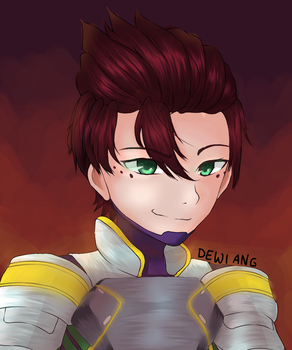 Sai from Boboiboy~ by DewiAng