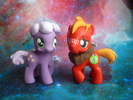 My Little Hearts and Hooves Foals by mooncustoms