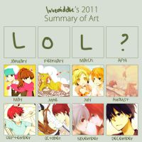 art summary for 2011 by loveariddle