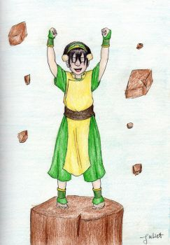 The Best Earthbender by tonksgiuly