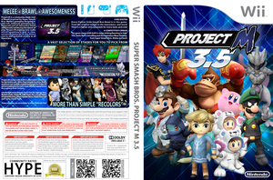 Project M 3.5 Custom Wii Game Cover V2.0 Normal by LipeSan