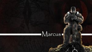 GOW 3 Wallpaper- Marcus by Hotamale87