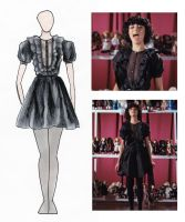 Kimbra Settle Down Dress Design by jazz-man556677