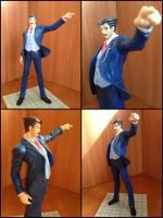 Phoenix Wright Official Ace Attorney Figure 1/10 by BenjaminHunter