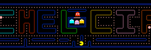 My Name Pacman Style by blackdemondragon13