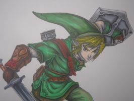 Link - Twilight Princess (Close-Up) by MasteringAnime