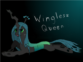 Wingless Queen by ArmoredPegasus