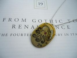 Octopus Pendant by cellsdividing