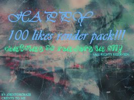 100 likes Render pack by 10EditorCraze