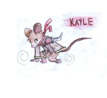 Kayle the House Mouse by TheMoonMonkey