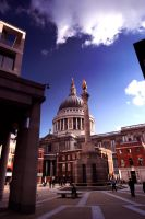 St Paul's Not In Infrared by paddimir