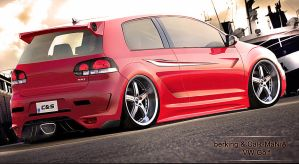 Volkswagen Golf by CaR-MaNiA