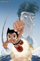 Astroboy Cover Color by GabrielRodriguez
