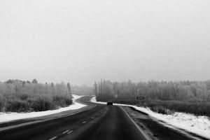 Long Winter Road by tracy-Me