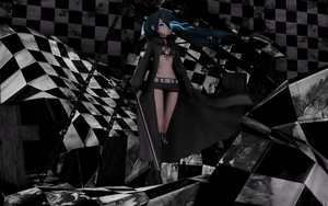 Black Rock Shooter by DoomedMello