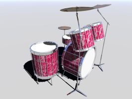 Drum Set by ThePickle