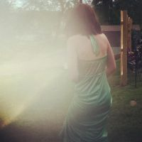 girl in the green dress. by Gizardofmars