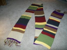 Dr. Who Scarf by skadiblue