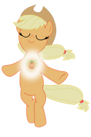 Elemental Applejack by pageturner1988