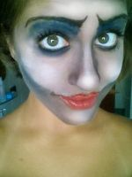 Corpse bride makeup C: by Moony394
