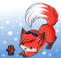 Frankie the fox XD by Sweetochii