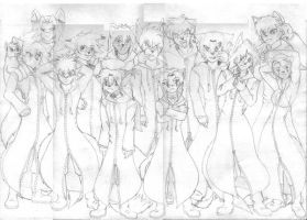 Organization XIII Furry by wolf-skyhigh