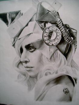 Lady Gaga - Telephone by VincentMistress