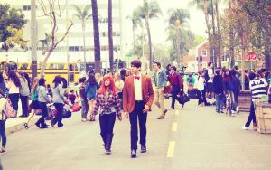 The Doctor and Amy Pond by Skool4Psychs