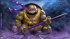 TMNT DONATELLO HD WALLPAPER by CapMoreno