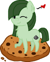GIFT: Creepie and Her Cookie by 1mbean