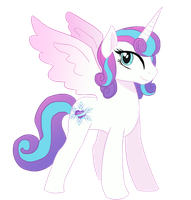 Princess Flurry Heart by Hibiscus-Dragon