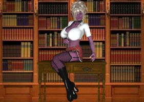 Librarian Syx by Seductivegeisha by Scratchtastic