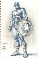 Captain America Commission by DylanTeague