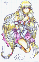 Chobits: Chii by DixFirebone