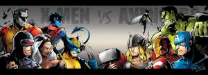 X-men VS Avengers by Mushstone