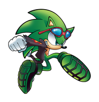Scourge the Hedgehog by WaniRamirez