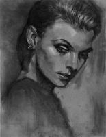 Portrait Charcoal 20131025 by KoweRallen