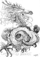 Chinese Dragon by AugustAnna