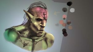 goblin skin_color_technique study by jshoemake15