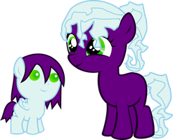 Sisters, Grape Fizz and Grape Fruit (Adoptable) by asdflove