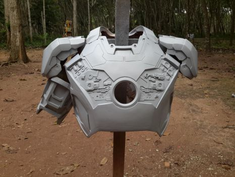 Iron man suit mark 42 / 43 replica WIP by PootPoster