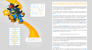Revamped Pagoda Gold Star Page by paralleltogether