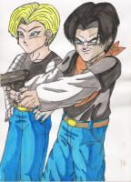 Android 17 and 18 now-a-days by Iziume89