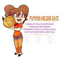 P2U - Pumpkin Holding Base by MimiMarieT