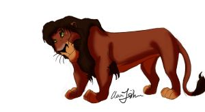 Evil Kovu (What if?) by AjSTheArtist
