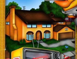 SIMPSONS HOUSE by SUNZHINE