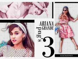 +Ariana grande pack png by ValentinaDontiWanna